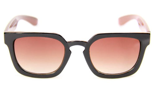 HAPPY HOUR WOLF PUP WILSON GLOSS BROWN BLACK SUNGLASSES
