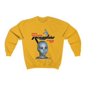 """Higher Intelligence Research Group"" Crewneck Sweatshirt (SUNSET)"