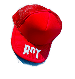 "ROY Trucker Hat ""Ruby Glow"""