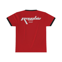 "Load image into Gallery viewer, ""Early Shift"" RGB Freight Staff Ringer Tee"