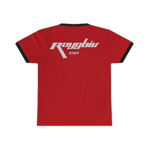 """Early Shift"" RGB Freight Staff Ringer Tee"