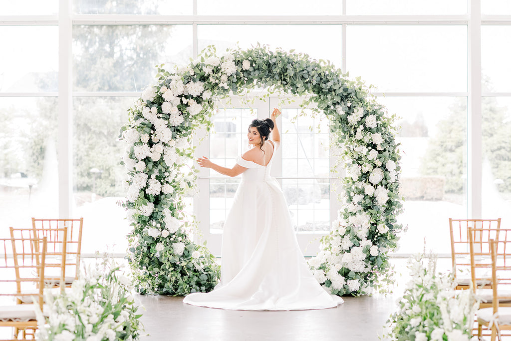 The Garden Arch *With OR Without Fresh Florals*