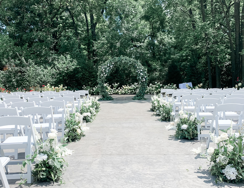 The Garden Aisle Flowers