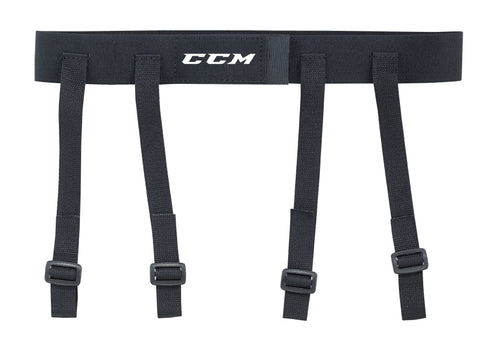 CCM GARTER BELT KNEE GUARDS