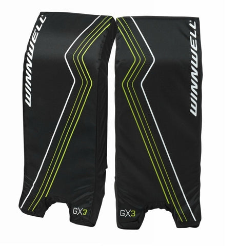 "WINNWELL GOAL PADS GX3 21"" STREET HOCKEY"