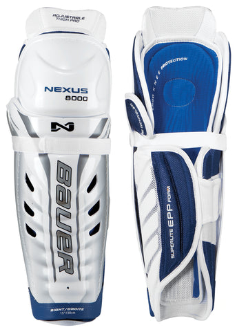 BAUER NEXUS 8000 SHIN GUARDS