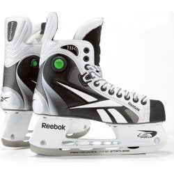 REEBOK 11K WHITE JR SKATE *FINAL SALE*