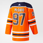 ADIDAS MENS AUTHENTIC NHL JERSEY W/NAME