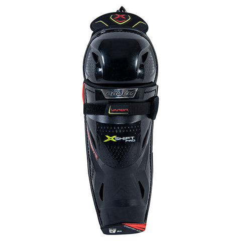 BAUER S20 VAPOR X-SHIFT PRO JR PLAYER SHIN GUARDS