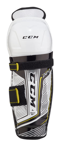 CCM SUPER TACKS AS1 YOUTH SHIN GUARDS