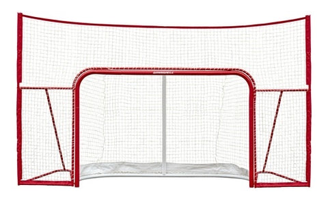 "HOCKEY PROFORM NET 72"" W/ 2/1.75"" POSTS, SKATEGUARD & STANDALONE BACKSTOP"