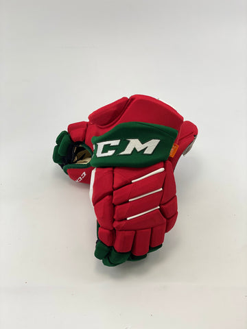 CCM PRO RETURN DEVILS RETRO PLAYER GLOVES