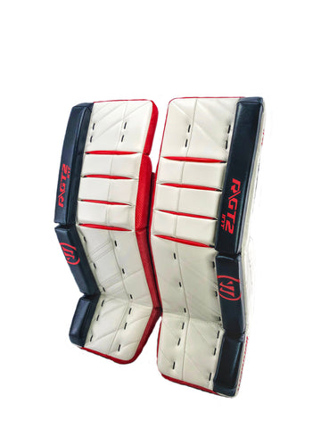 WARRIOR RITUAL GT2 INTERMEDIATE GOALIE LEG PADS - SMU