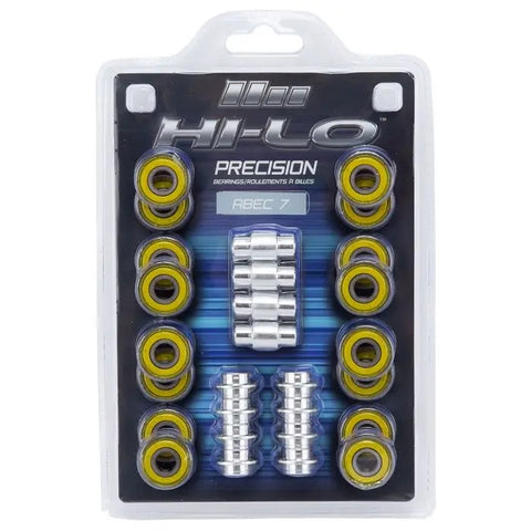 BAUER HI-LO S19 ABEC 7 BEARINGS (PRE-ORDER NOW)
