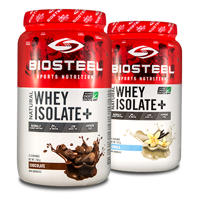 BIOSTEEL NATURAL WHEY ISOLATE PLUS