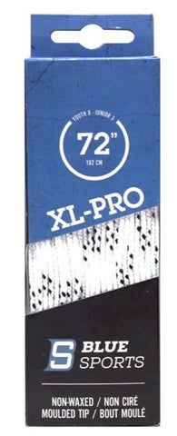 BLUE SPORT XL-PRO WIDE MOLDED TIP LACE
