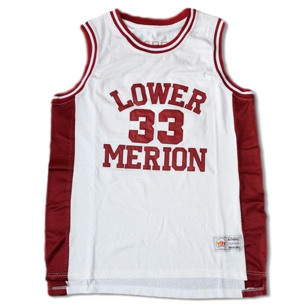 new product 9e986 c627c Kobe Bryant #33 Lower Merion High School Basketball Jersey Stitched