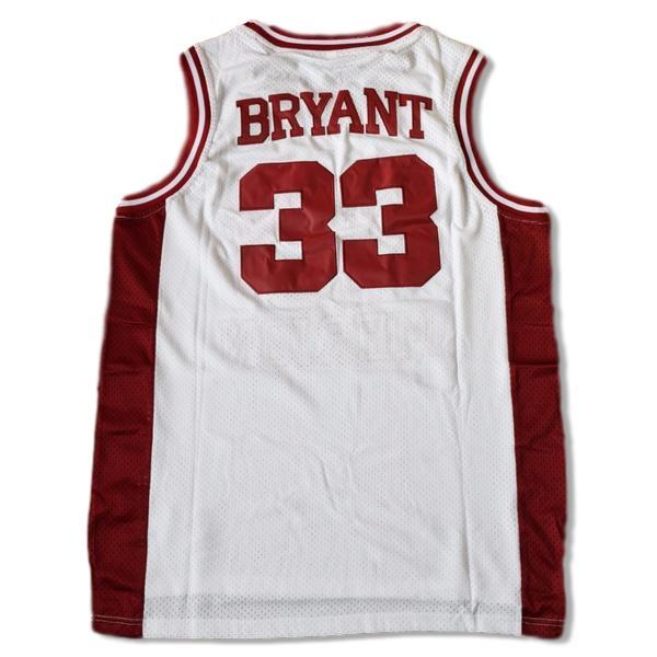 ea7d68ddc17 Kobe Bryant  33 Lower Merion High School Basketball Jersey Stitched