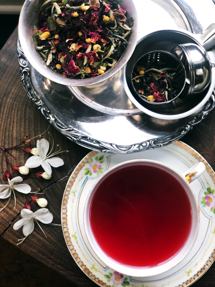 Celebrate National Tea Month With This Hot Steam Ritual