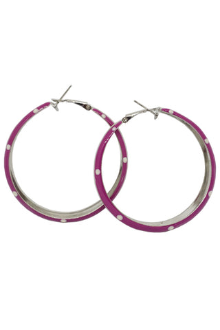 Polka dot hoop (7 colors)