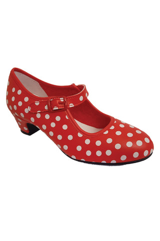 Girl flamenco shoe