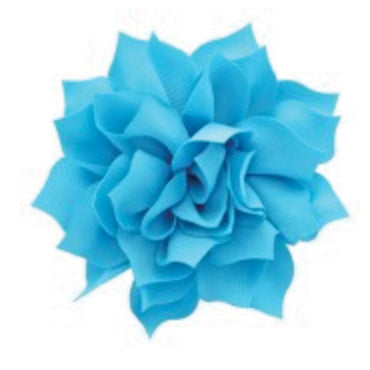 "3"" Fabric Flower (12 colors)"