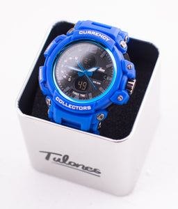 Royal Blue Currency Collectors Watch