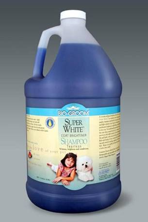 BioGroom Super White Shampoo -gallon
