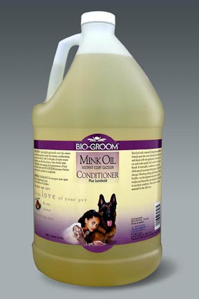 BioGroom Mink Oil Spray -gallon