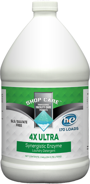 4X  Ultra Enzyme Laundry Detergent -gallon