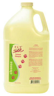Pet Silk Oatmeal Shampoo -gallon