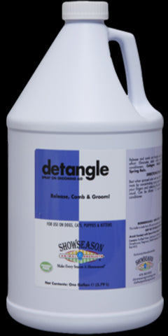 Show Season Detangle Spray -gallon