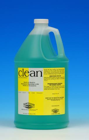 Show Season Clean Shampoo -Gallon