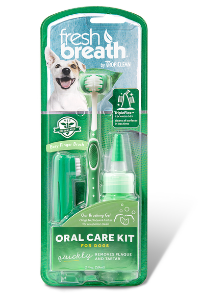 Tropiclean Fresh Breath Gel Kit