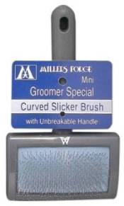 Slicker Brush Unbreakable Curved -Mini