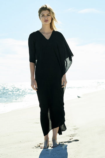 Pari Caftan in Black