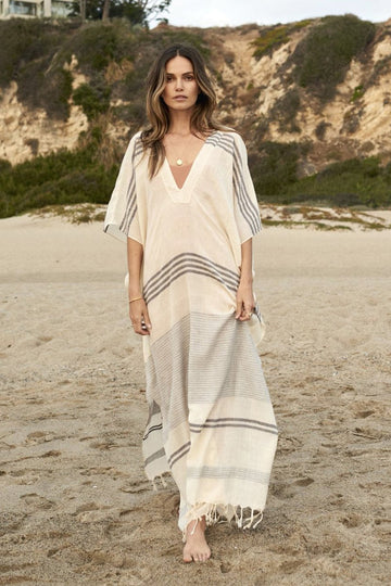 Kyra Caftan in Stripes