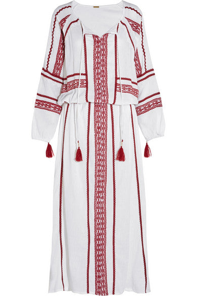 Mustafa Long Kaftan Dress