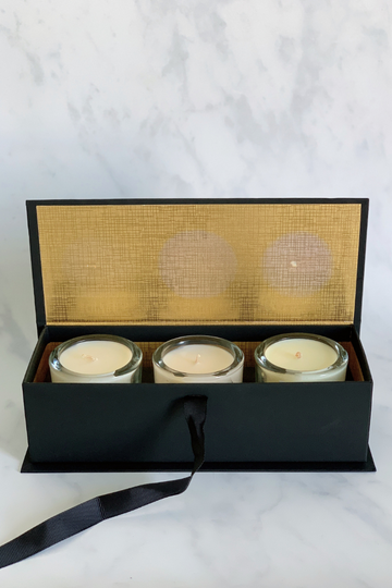 Set of 3 Votive Gift Box in Spring Scents Candle