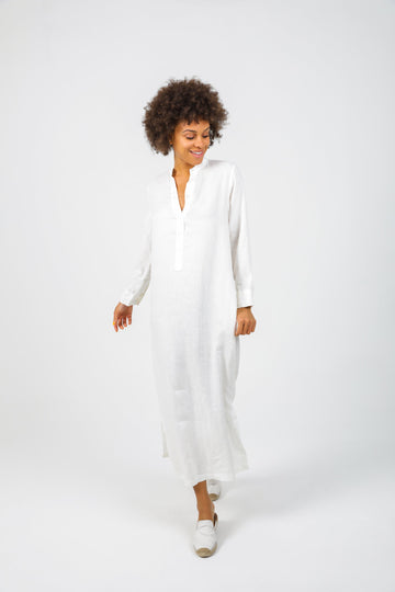Nikka Caftan in White