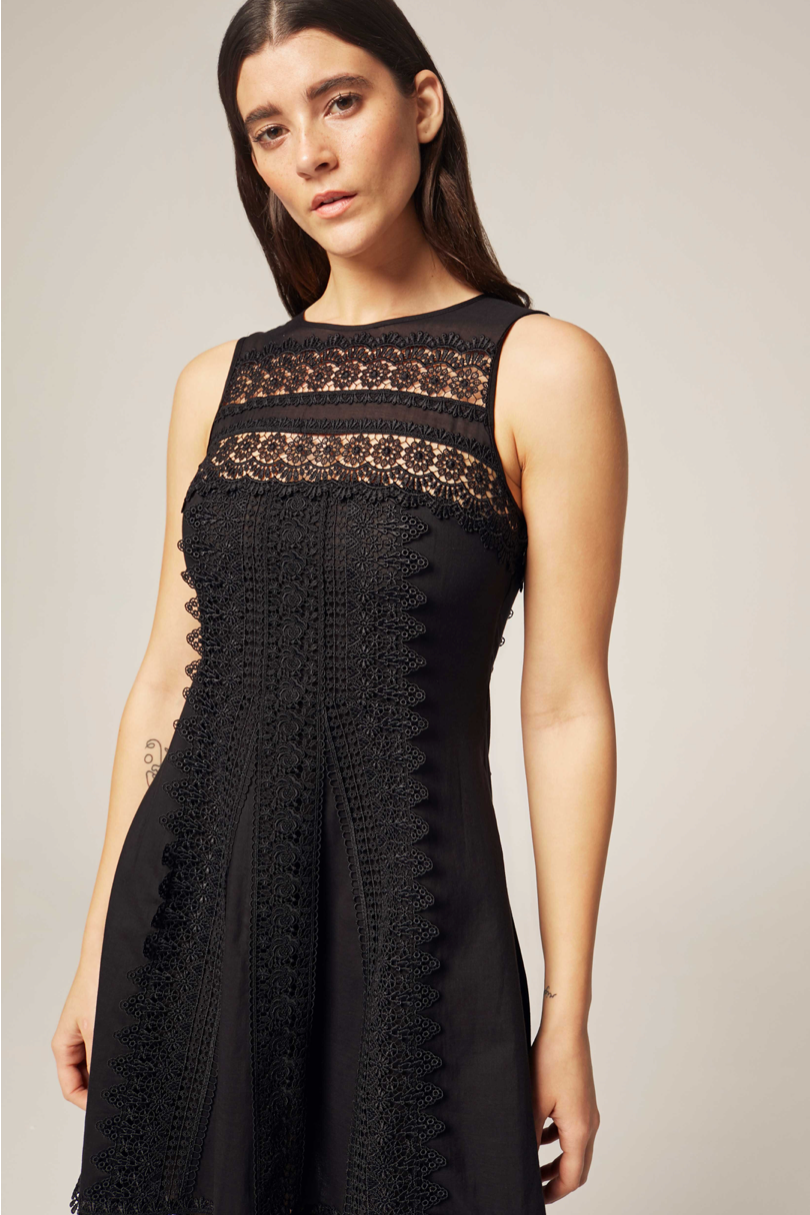 Ona Lace Short Dress