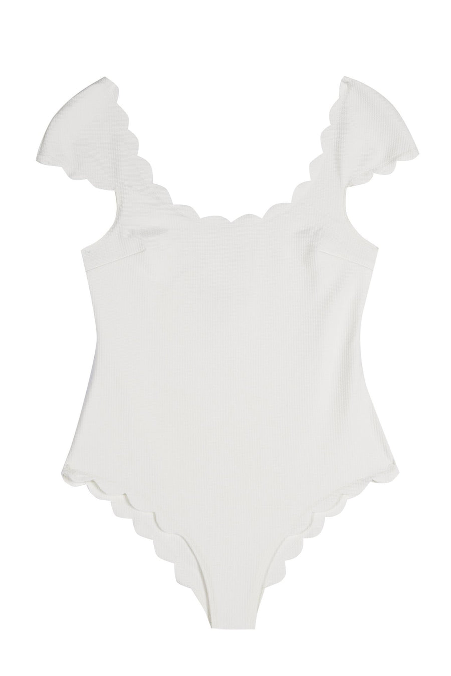 Mexico One Piece Maillot in Coconut
