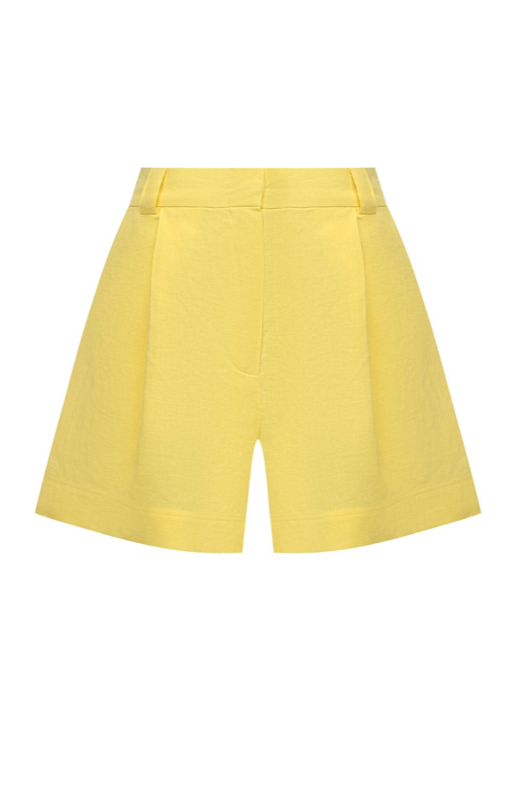 Beach Shorts in Yellow