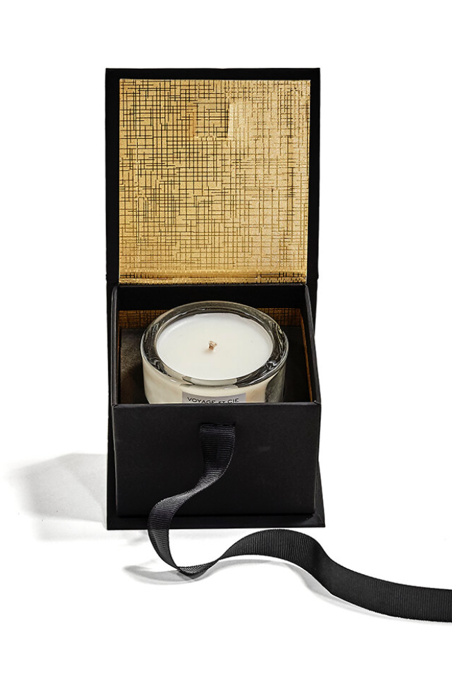 Single Votive Gift Box in Eme #5 Santal Épicer Candle
