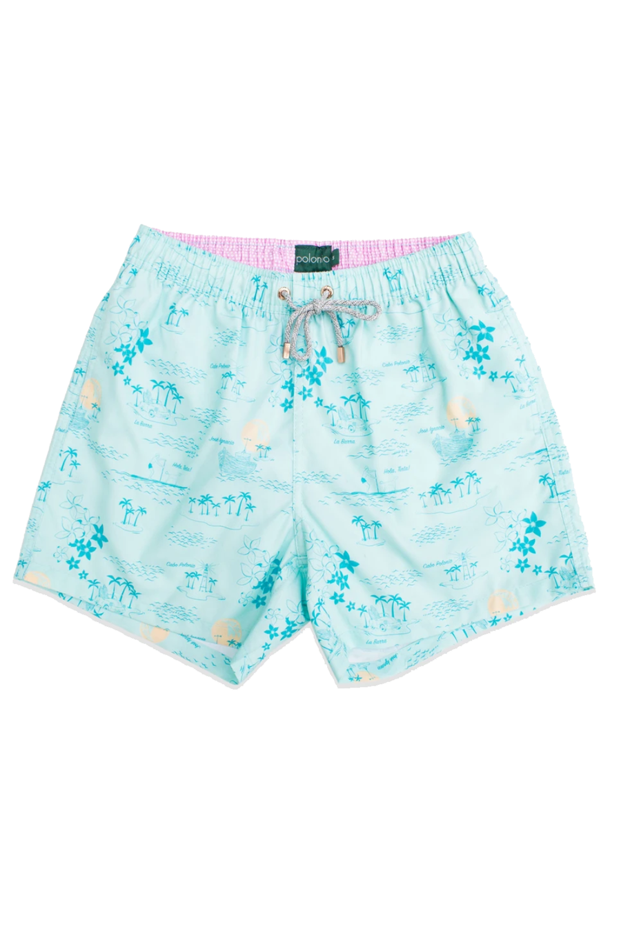 La Isla Classic Cut Mens Swim Trunk