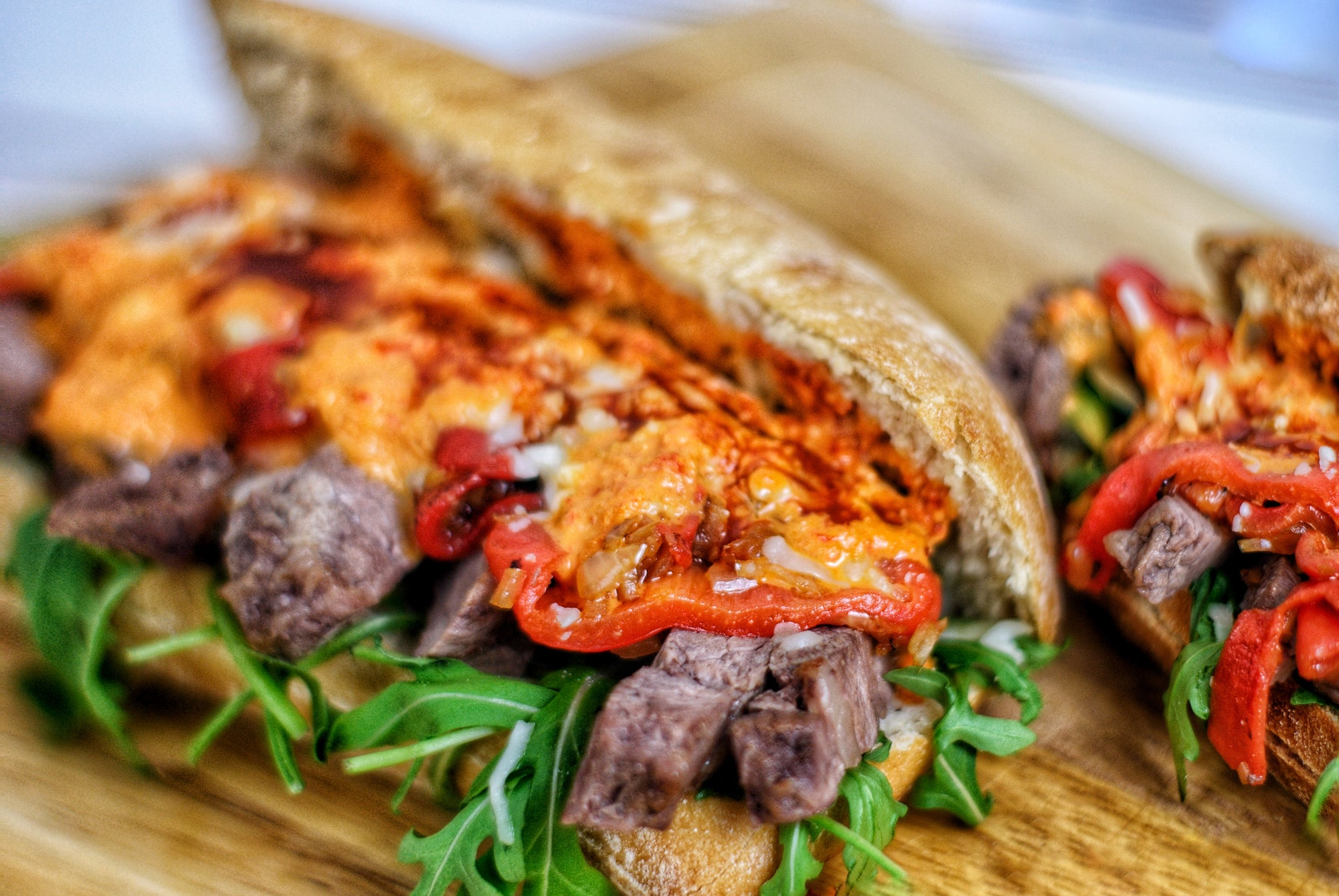 Rump Steak Sandwich 🥪