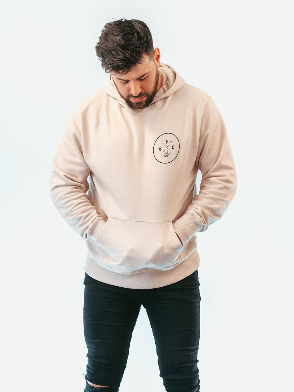 Icon Faded Nude Hoodie