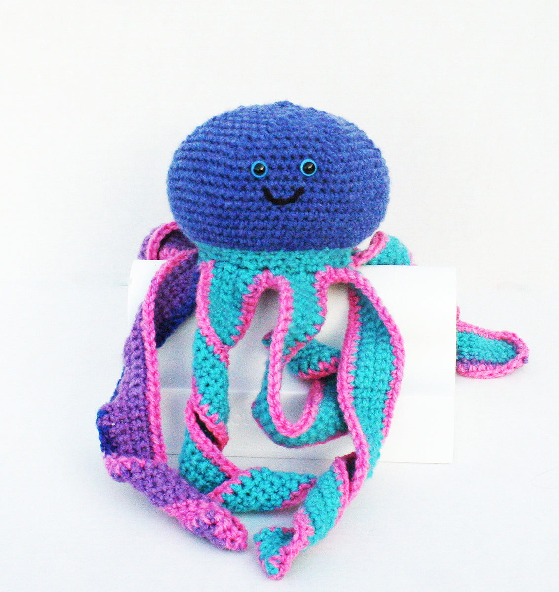 a87c4ecb176 Olive the crocheted Octopus Amigurumi made by Hooktopi