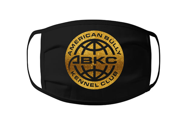 ABKC LOGO SOILD GOLD FACE MASK