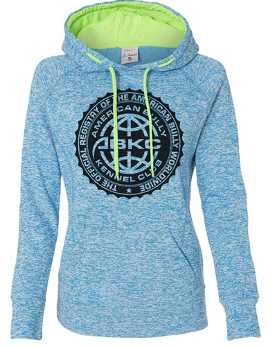 ABKC Seal Women's Contrast Pullover with Hood